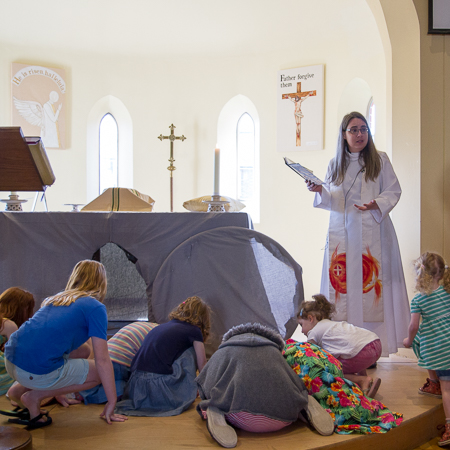 Small photo of Easter sermon